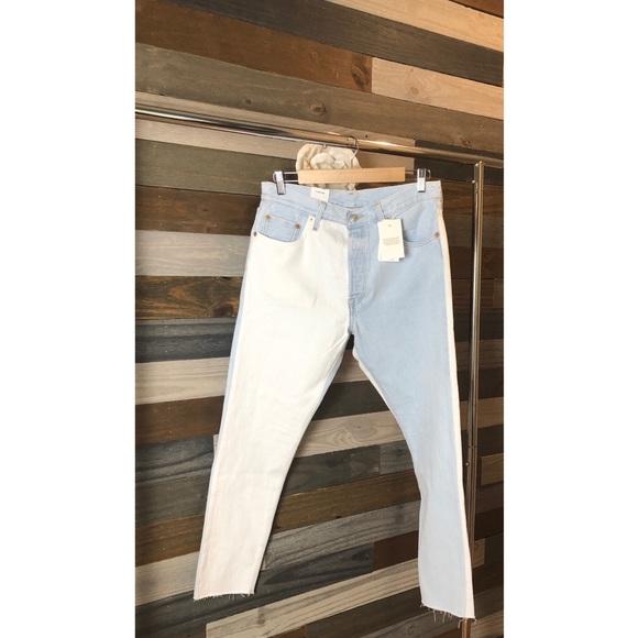 Levi's Denim - Levi's 501 Two Toned Skinny Jeans NWT